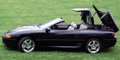 1995 mitsubishi 3000gt convertible
