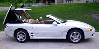 1995 Spyder Exterior Colors